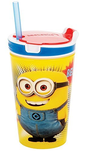 Despicable Me 2 in 1 Snack & Drink Cup 12 oz color may vary