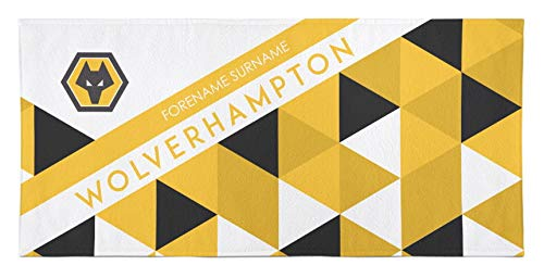 Wolverhampton Wanderers Toalla de baño Personalizable de