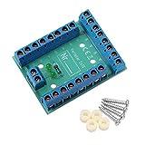 Edelstahlmarkenshop Stromverteiler Verteiler V 2x13 kontroll LED incl. Montagematerial 8A belastbar (V 2x13)
