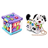 VTech Busy Learners Activity Cube, Purple & Pull and Sing Puppy