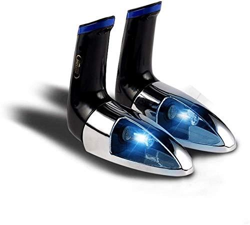 RDJM Secador de Zapatos eléctricos portátiles Zapatos UV Desodorizante Ultravioleta con esterilización de ozono Deshumidificación Secador de Calor