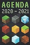 agenda 2020 2021: agenda escolar 2020-2021 gamer - agenda 2020 2021 semana vista - Septiembre 2020 a Sep 2021 - calendario - planificador semanal a5 - Colegio - secundaria - estudiante