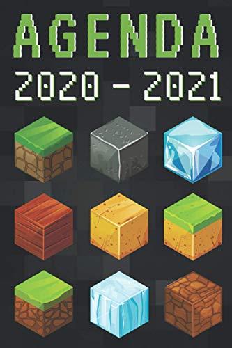 agenda 2020 2021: agenda escolar 2020-2021 gamer - agenda 2020 2021 semana vista - Septiembre 2020 a Sep 2021 -...