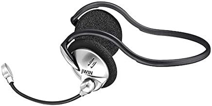 jWIN JBM44 PC/Gaming Stereo Backphone with Microphone