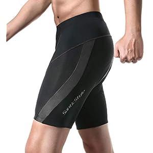 Santic Cycling Men's Shorts 4D Padded Bicycle Riding Pants Bike Shorts Quick-Dry Half Pants