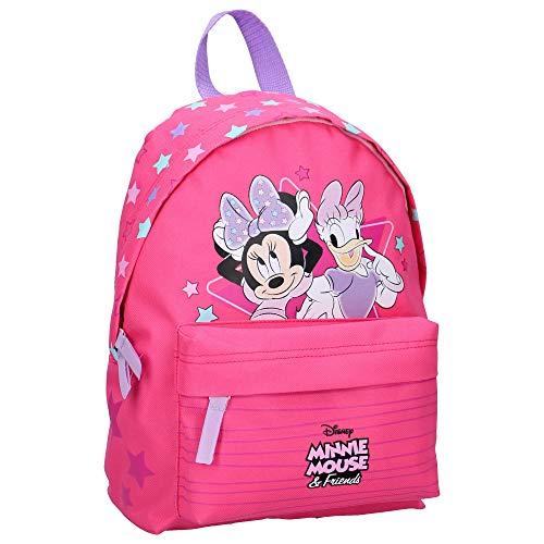 Disney Minnie Mouse Kinderrucksack - Minnie und Diasy Duck - Rosa