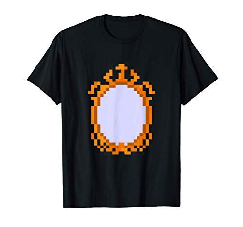 Antiguo Pixel Espejo Camiseta