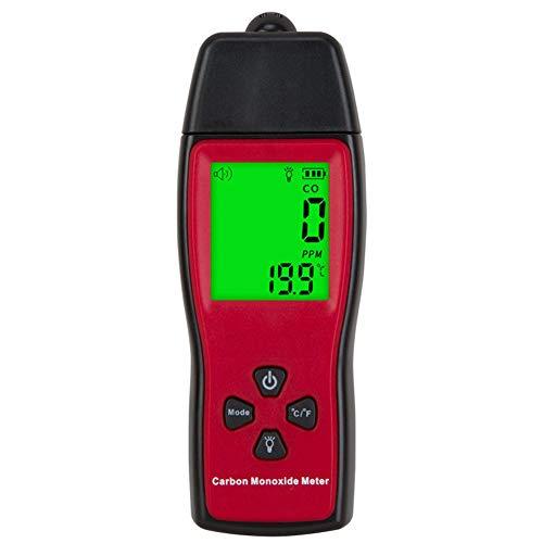 DZSF 2 in 1 CO-Analysator LCD-Farb-Display-Gas-Detektor Temperaturmessgerät Kohle Monoxideair Quality Monitor Gas-Leck-Analysatoren