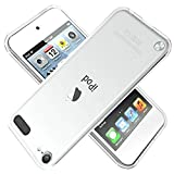 ipod 5 bumpers with clear back - LuckQR Crystal Clear Case for iPod Touch 7th 6th 5th Generation (Touch 7, Touch 6, Touch 5), Lightweight Slim fit, Ultra Transparent, Hard Back Cover Soft TPU Bumper Protect Phone Full Body Shockproof