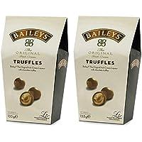 Baileys Irish Cream Twist Wraps Trufas de chocolate con leche en una caja, 135 gramos por caja (2 cajas)