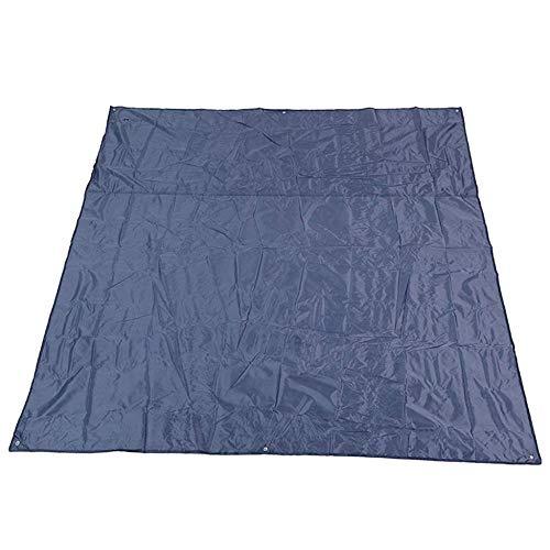GCX Tragbare Campingdecke Picknickmatte Strandmatte Faltbare Strandmatte Zeltmatte Tragbar Wasserdicht 215 × 215 cm Solide (Farbe: Violett)