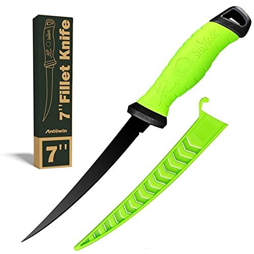 Fishing Fillet Knife 7 Inch, Professional Level Knives For Filleting Fish