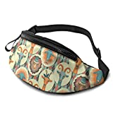 XCNGG Bolso de Cintura Corriente Bolso de Cintura de Ocio Bolso de Cintura Bolso de Cintura de Moda Goat and Sheep Casual Waist Bag For Men Women Running Travel Fashionable Fanny Pack