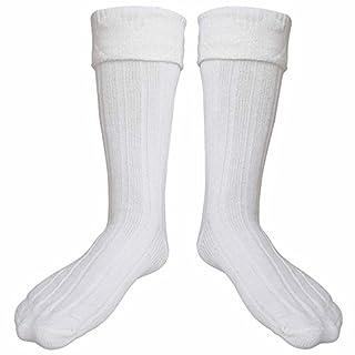 شراء Scottish Kilt Hose Socks Highland Wear Kilt Accessories