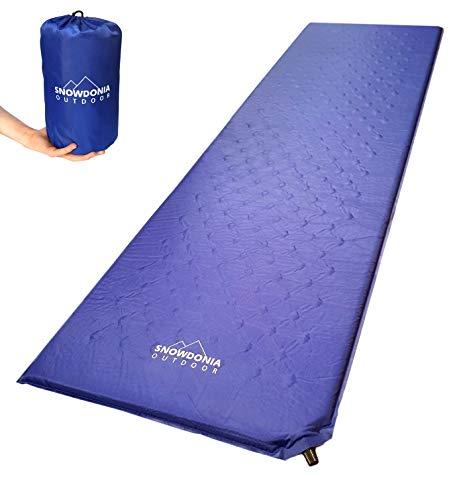 Snowdonia Outdoor Inflatable Sleeping Mat Ultralight Camping Mattress. Sleeping Air Pad for Backpacking, Camping, Hiking.