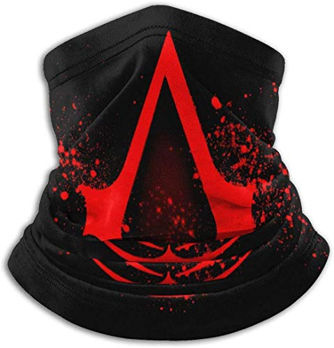 ADICOM Assassins Creed Game Bandana Neck Gaiter UV-Schutzwärmer Sturmhaube Kopfbedeckung für Outdoor-Sportarten