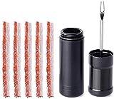 Jieyunran - Caja de herramientas para reparación de neumáticos sin manguera