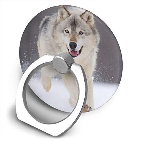 Fighwy Cool Wolf Support Universel pour téléphone Portable avec Support Rotatif à 360° pour iPhone, iPad, Samsung, HTC, Google Pixel, Nokia, LG