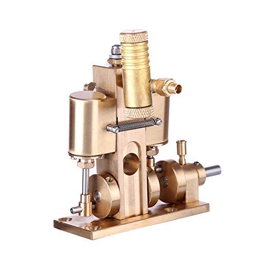 Mini Pure Copper Steam Engine Model Without Boiler, 8.5 x 6.7 x 7.9CM