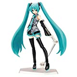 15Cm PVC Heroines Miku Hatsune Figura de acción, Anime Miku Doll Model Toy Collectibles, Hatsune Miku Joints Movable...
