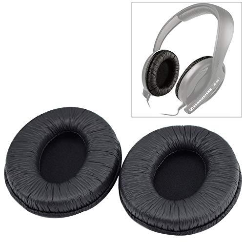 XUY hoofdtelefoon oorbeschermer voor Sennheiser HD202 / HD212 / HD437 / HD447 / HD457 / HD497 koptelefoon kussen spons afdekking Earmuffs reserveoorkussen (2 stuks)