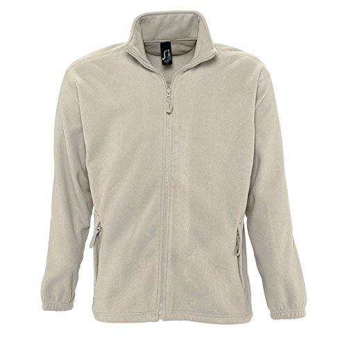 Sols Herren Outdoor Fleece Jacke North (5XL) (Seil)