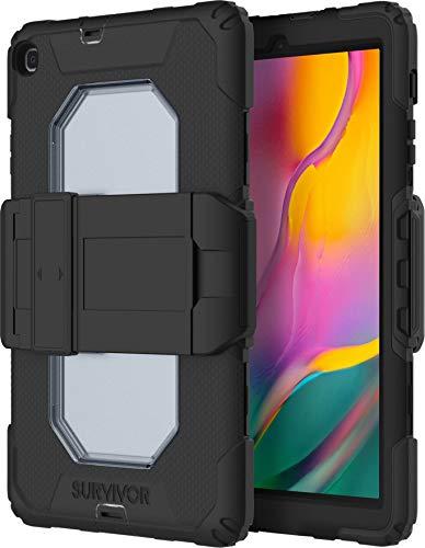 Griffin Survivor - Carcasa para Samsung Galaxy Tab A 10.1 (2019), color negro