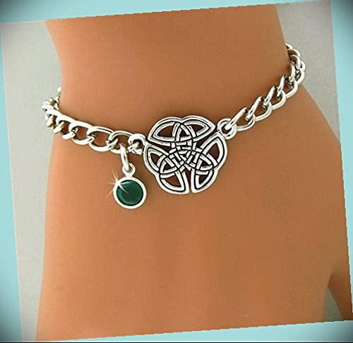 Trinity Knot Emerald Charm Statement B Crystal Sale Special Price Rhinestone Ranking TOP15 Chunky