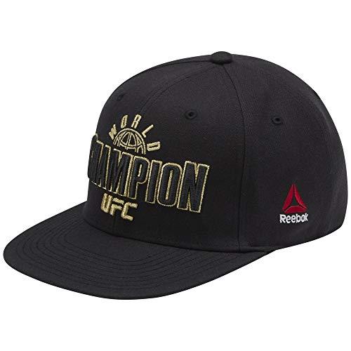 Reebok UFC Champ Cap (At) Gorra, Hombre, Negro, Talla Única