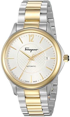 SALVATORE FERRAGAMO Herren Automatik Uhr mit Edelstahl Armband FFT040016