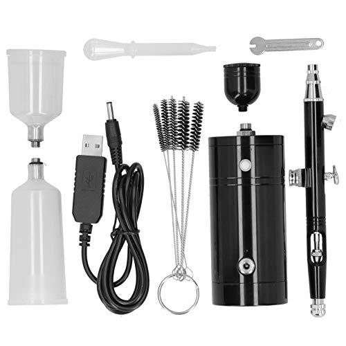 Kit de aerógrafo bomba G11 de acción única, recargable de mano, bolígrafo rociador integrado, Mini juego de procesamiento, compresores de aire, herramientas de bricolaje