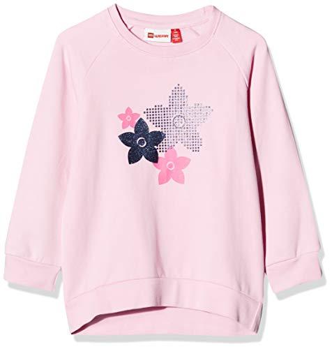 Lego Wear Baby-Mädchen Lwtamo Sweatshirt, Rosa (Rose 419), (Herstellergröße: 104)