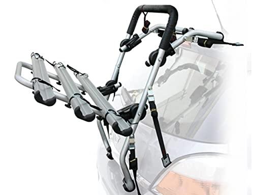 Fahrradträger hinten Peruzzo Padova 3 Fahrrad kompatibel mit Opel Corsa ab 2019 - max. 45 kg - Fahrradträger aus Stahl