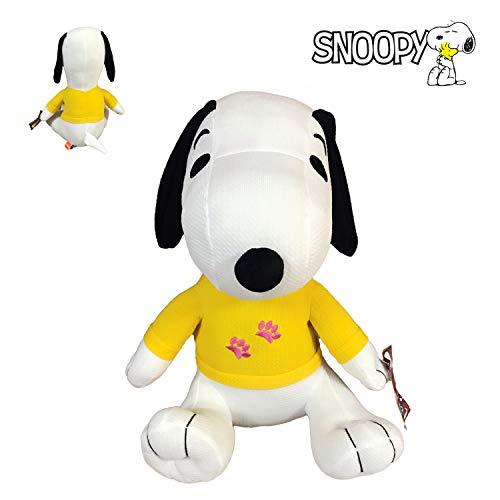 Snoopy Peanuts - Peluche Baby con Camiseta Amarilla 7'87