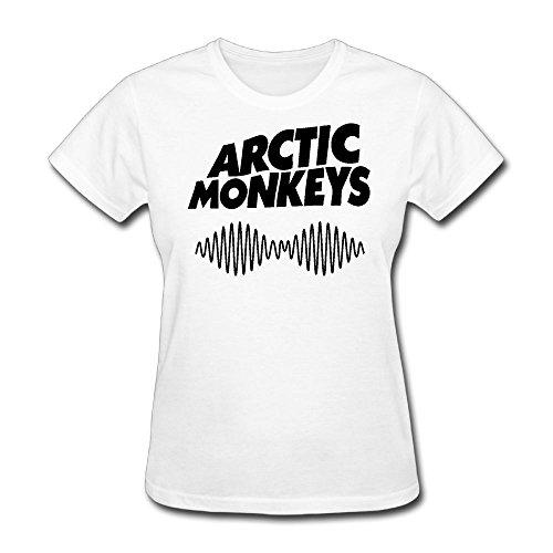 Women's T-Shirt Arctic Monkey Cute Shirt XS
