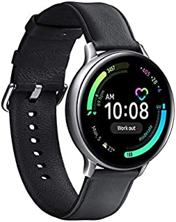 Samsung Galaxy Watch Active 2, roestvrij staal, 44 mm, zilver