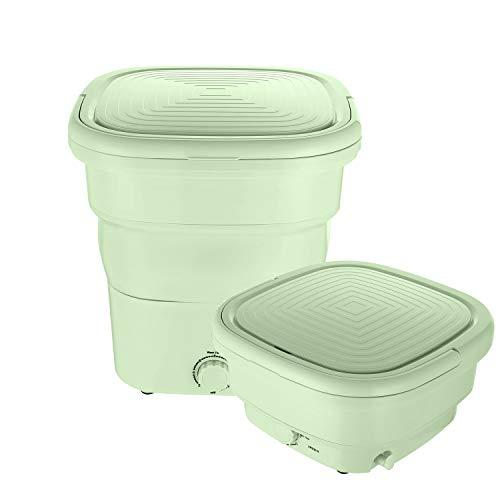 Lavadora y secadora portátil, mini lavadora plegable | Lavadora pequeña de Blue Ray ligera y cómoda de bajo ruido para apartamentos y dormitorios