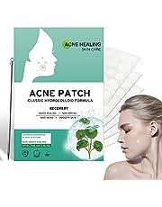 216 PCS Puistje gips met acne naald, Onzichtbare Hydrocolloïde Absorberende Acne Patch, Hydrocolloïde Acne Gips absorbeert secretie, absorbeert Secretuon en bevordert de genezing van Acne (8mm/12mm)