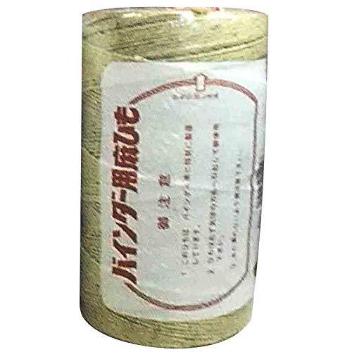 バインダー麻紐 6巻入 14番手6本撚 850m 2.6kg ジュートロープ 輸入品 K麻 代不