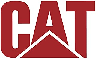 "Caterpillar CAT Logo 4"" to 48"" with Black, White or Pink CAT Letters Full Color Vinyl Decal Sticker"
