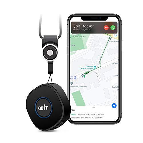 Rastreador GPS Personal Mini Dispositivo de rastreo en Tiempo Real Anti pérdida Emergencia Botón SOS Selector de Velocidad Rastreador GPS Geo Fence para niños Mayores con Tarjeta SIM