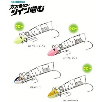 シマノ(SHIMANO) テンヤ 太刀魚ゲッター ツイン噛む 3号/4号/5号/6号 OO-003L/OO-004L/OO-005L/OO-006L