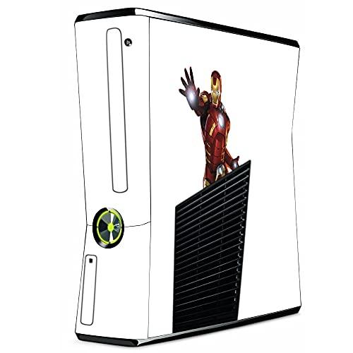 VINILOL Vinilo para Xbox 360 Slim pegatina cubierta Ironman skin para consola. v2