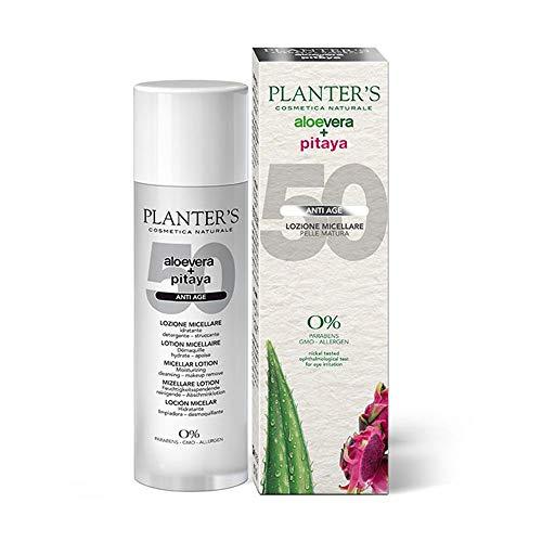 Planter's Aloe Vera + Pitaya - Lozione Micellare Anti-age Pelli Mature, 200ml