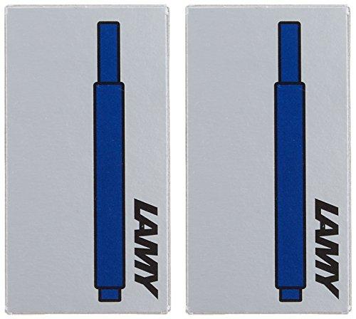 『LAMY ラミー 万年筆用 カートリッジインク ブルーブラック LT10BLBK 2箱セット 正規輸入品』の5枚目の画像
