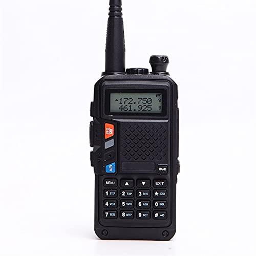 HJWL Walkie Talkie 8W Alta Potenza UHF/VHF A Due Bande Radio Bidirezionale 10KM Long Range Radio Communication 3800mAh Battery Radio Portatile