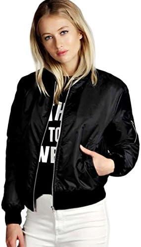 KYLEON Women's Coat Bomber Jacket Solid Short Quilted Ranking TOP15 Store Bik