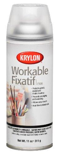 Krylon Workable Fixatif Spray