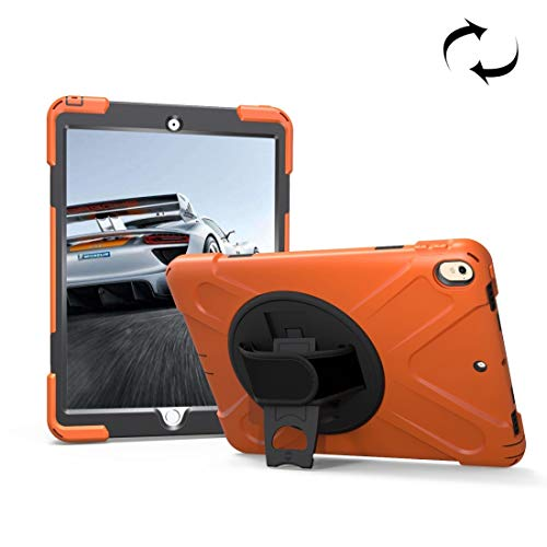 FATEGGS Mobile Phone Accessories For iPad Pro 10.5 inch 360 Degree Rotation PC + Silicone Case with Holder & Hand-strap Case Covers (SKU : Ipru2135e)