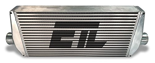 26.00 Inch W 6.50 Inch H 3.23 Inch T 2.50 Inch Inlet Diameter Universal Intercooler Core